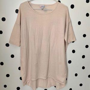 🔥30%OFF🔥Lularoe Highlow beige color top size XS